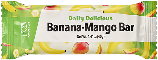 Daily Delicious Banana-Mango Bar