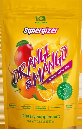 Синерджайзер со вкусом апельсина и манго
